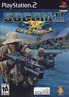 ***SOCOM II US NAVY SEALS PS2 PLAYSTATION 2 DISC ONLY~~~