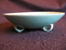 GERMAN 'FAT LAVA' AQUA GREEN POT-POURRI BOWL  CARSTENS-TONNIESHOF c.60's EX