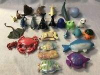 Pretend Play Sea Animals Figures Preschool Daycare Toy Lot Of 26 Plastic
