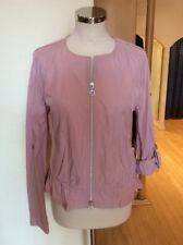 Betty Barclay Jacket Size 18 BNWT Pink Roll Up Sleeves RRP £140 Now £63