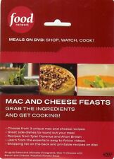 DVD - MAC AND CHEESE FEASTS - FOOD NETWORK - NEW