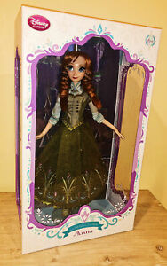 """Disney Store Anna Regal Limited Edition Frozen 17"""" Doll"""