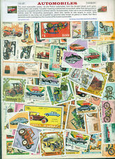 Automobiles 100 Diff - STAMP PACKET