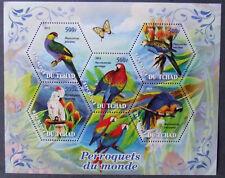 Tchad 2011 -Birds, 1 M/Sh, MNH, EP 001