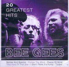 CD MUSICALE NUOVO/scatola originale-Bee Gees - 20 Greatest Hits
