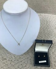9 Karat Yellow Gold Jewellery Bundle Includes Necklace & Earrings 1.68 G #682