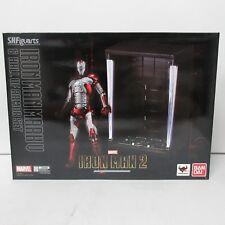S.H. Figuarts Marvel Iron Man Mark V Figure w/ Hall of Armor Set