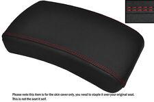 GRIP VINYL BRIGHT RED STITCH CUSTOM FITS YAMAHA XVS 650 DRAGSTAR REAR SEAT COVER