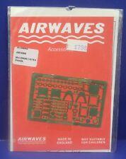 Airwaves AC48065 1:48 Etched Brass Me109G6/10/K4 Panels Set for Fujimi Kit