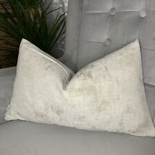 """Modern Cushion Cover 12""""x20"""" John Lewis & Partners Design Project Fabric Natural"""