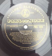 BEATLES PLEASE PLEASE ME PMC1202 GOLD LABEL CROSSOVER CREDITS EXCELLENT+ COPY