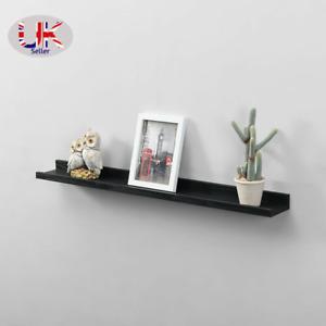 Set of 2 Shelf 48cm/80cmWide Photo Wall Mounted Floating Shelves Decoration