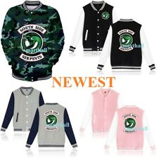 Baseball Jackets Southside Serpents Riverdale TV Uniform Hoodies Sweats Coat 3D