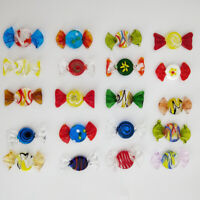 12/24pcs Vintage Murano Glass Sweets Candy Christmas Decorations Kids ❤