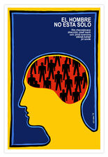 Spanish movie Poster 4 film The NIGHT.Peeping Tom Keyhole.Modern Home decor