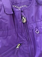 "$70 GIRLS OBERMEYER INSULATED PURPLE SKI BIBS ""SNOVERALL""  I GROW PANT Sz 3 NEW"