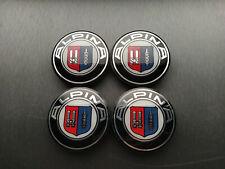 4x 65mm Alpina Center Caps Hub Cap Wheel Rim Car Decal Badge (inner 55mm)