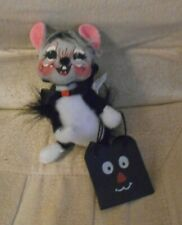 New listing Annalee 2005 Halloween Mouse Masquerading as Cat With Trick or Treat Bag