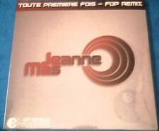 "JEANNE MAS - RARE CD SINGLE ""TOUTE PREMIERE FOIS - FDP REMIX"""