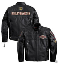 Lederjacke MOTORRAD chaqueta CUERO HARLEY DAVIDSON SIZE XL Verkauf -25%