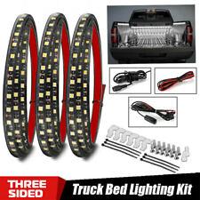 """3PC 60"""" Car LED Cargo Truck Bed Light Strip Kit For Dodge GMC Ram 1500 2500 3500"""