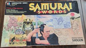Samurai Swords Board Game 1995 Milton Bradley Complete