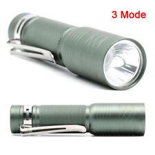Pocket Size Torch LED Mini Flashlight 300 Lumens Q5 LED Small for Dark Repairing