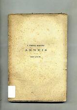 P. Vergili Maronis # AENEIS # Giovanni Chiantore 1926