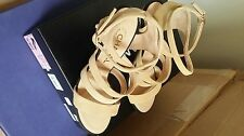 $1200 Chanel Sandal Beige Suede Size 37/7 NWB ABSOLUTELY GORGEOUS!!