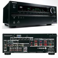 Onkyo TX-NR609 7.2 Home Cinema Theatre 3D AV Network HD Receiver 7x HDMI THX FM