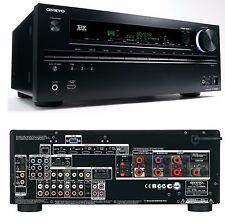 Onkyo TX-NR609 7.2 Home Cinema Theatre 3D AV Network HD Receiver 7x HDMI THX FM