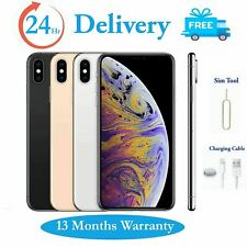 Apple iPhone XS 64GB 256GB Unlocked Smartphone Gold Silver Grey Various Colours
