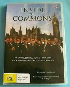 INSIDE THE COMMONS DVD (British House of Commons) Region 4 see below