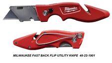 BRAND NEW MILWAUKEE FASTBACK FLIP UTILITY KNIFE 48-22-1901