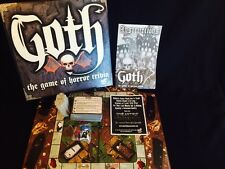Board Game Goth Horror Trivia Ages 13+ McNutty Games
