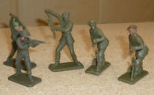 Vintage Crescent toy soldiers plastic late 60s early 70s