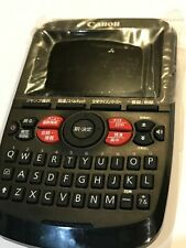 Canon Electrical Dictionary Wordtank A503 Japanese, Chinese & English dictionary