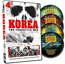 NEW Korea The Forgotten War - 4 DVD Set!