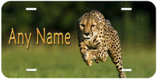 Cheetah Aluminum Any Text Personalized Novelty Car Auto License Plate P05