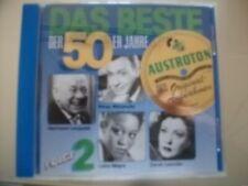 VA/Das Beste der 50er Jahre Folge 2 incl. Peter Alexander Austroton/CD