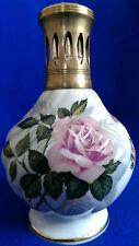 Lampe Berger Limoges Porzellan Design Porcelaines France Decor Rosen Gold