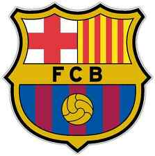 "FC Barcelona Barca Spain Football Soccer Car Bumper Sticker Decal 4.5""X4.5"""