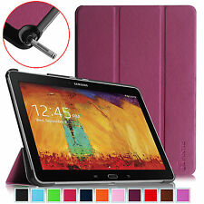 """Slim Shell Case Stand Cover For Samsung Galaxy Note 10.1"""" 2014 Edition"""
