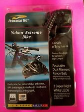 Princeton Tec Yukon Extreme Bike Light fits  helmet or handlebars
