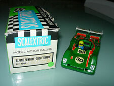 Scalextric Slot car Exin. Vintage Alpine 2000 Turbo Ref 4053
