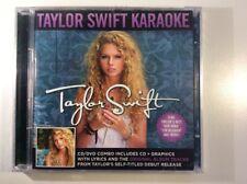 Taylor Swift Karaoke CD/DVD (2006), neu & versiegelt