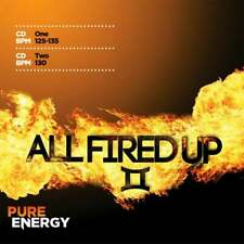 Pure Energy All Fired Up II Aerobics Fitness Music Double CD Continuous Mixes
