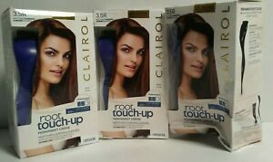 3 CLAIROL ROOT TOUCH UP PERMANENT HAIRCOLOR #3.5R DARKEST AUBURN