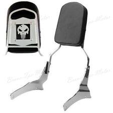 Intruder Marauder Skull Backrest Sissy Bar for Suzuki Boulevard M50 C50 C50t BT