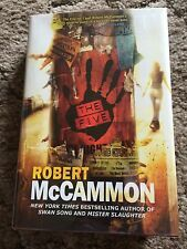 THE FIVE Robert McCammon 1st trade HC ed SIGNED BY AUTHOR ON TITLE PAGE fine OOP